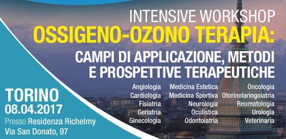IWS: OSSIGENO-OZONO TERAPIA, CAMPI DI APPLICAZIONE, METODI E PROSPETTIVE TERAPEUTICHE – Torino 08.04.2017