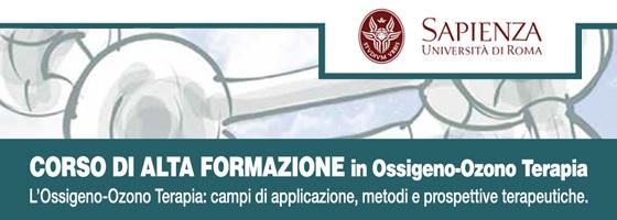 Corso di Alta Formazione – L'Ossigeno-Ozono Terapia campi di applicazione, metodi e prospettive terapeutiche