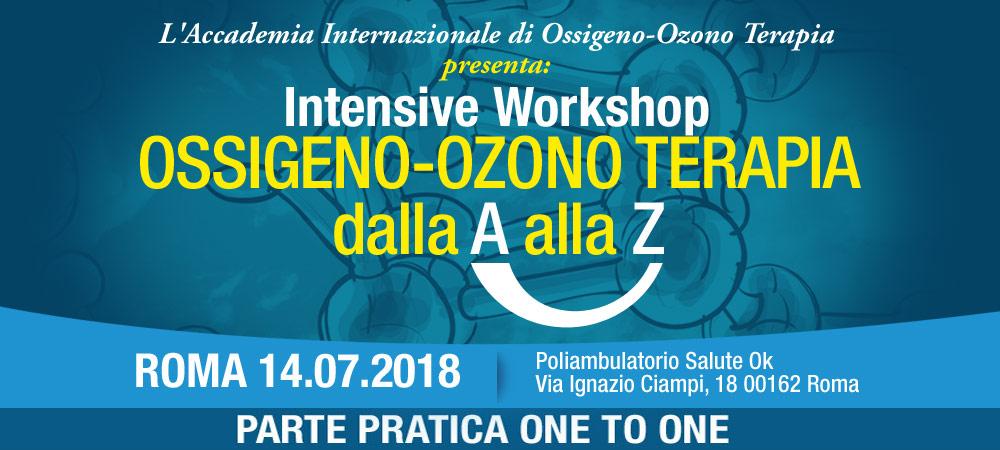 OSSIGENO-OZONO TERAPIA dalla A alla Z ROMA 14.07.2018 Poliambulatorio Salute Ok Via Ignazio Ciampi, 18 00162 Roma