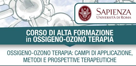 CORSO DI ALTA FORMAZIONE in OSSIGENO-OZONO TERAPIA – OSSIGENO-OZONO TERAPIA: CAMPI DI APPLICAZIONE, METODI E PROSPETTIVE TERAPEUTICHE