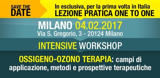 IWS: L'Ossigeno-Ozono Terapia: campi di applicazione, metodi e prospettive terapeutiche, Milano 04.02.2017