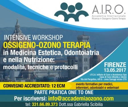 IWS Firenze: OOT in Medicina Estetica, Odontoiatria e nella Nutrizione